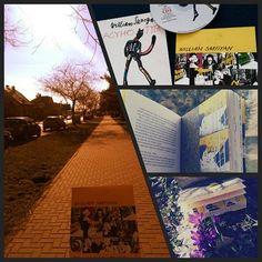 Den jako stvoreny na vychazku s tygrem Walk with tiger #tracyhotygr #tiger #tracy #williamsaroyan #book #literature #fantasy #fictionworld #imagination #sunny #monday #sunnymonday #spring #flowers #cd #grass #nature #march #sternberk