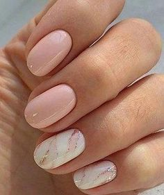 False nails have the advantage of offering a manicure worthy of the most advanced backstage and to hold longer than a simple nail polish. The problem is how to remove them without damaging your nails. Marble Nail Designs, Marble Nail Art, White Nail Designs, Colorful Nail Designs, Nail Designs Spring, Nail Color Designs, Acrylic Nails Designs Short, Acrylic Spring Nails, Shellac Nail Designs