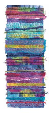 dyed stick quilt embellishment