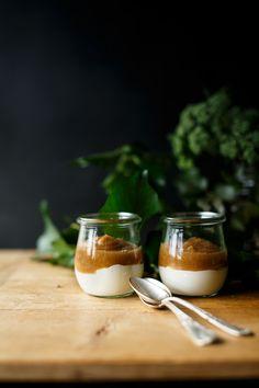 Crema de manzana - Because blog