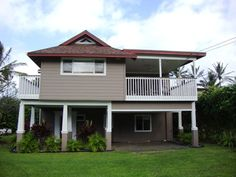 Kauai Vacation Rentals - Hale Haena  30 seconds to the sandy beach!  Best vacation rental ever in Kauai.