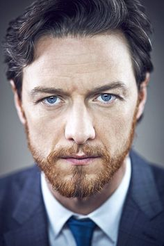 James McAvoy, still love his eyes and kinda the ginger beard.