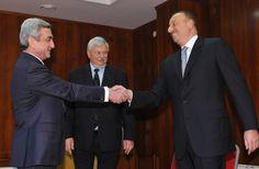 Reunión tripartita por Nagorno Karabaj en Sochi