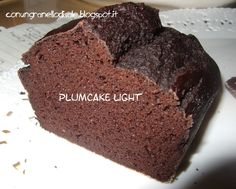 apportando qualche modifica alla torta di albumi e cacao sono approdata al plumcake light Plumcake light di ricotta, albumi e cacao ...