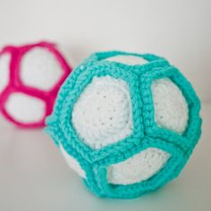 Make your own rattle filled ball for little ones to play with. Safe for all ages. Free crochet pattern.