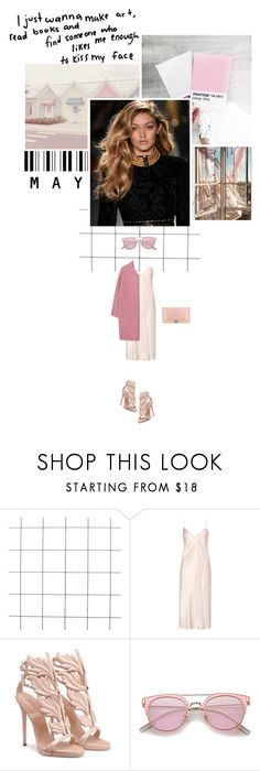 """""""I just wanna make art, read books and find someone who likes me enough to kiss my face."""" by miky94 ❤ liked on Polyvore featuring Yves Saint Laurent, MANGO and Chanel"""