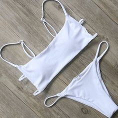 Cute Bikinis, Cute Swimsuits, Women Swimsuits, Trendy Bikinis, Bandeau Bikini Set, Bikini Swimwear, Bikini Girls, Cute Bathing Suits, Striped Bikini