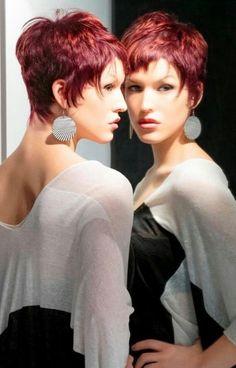 Für Frauen, die warme Farben lieben: 11 wunderschöne Kurzhaarfrisuren in den schönsten Kupferfarben! - Neue Frisur
