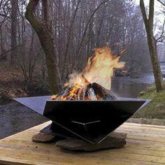 Daniel Williams - origami fire pit