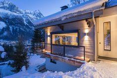 balcon - chalet-dag par Chevalier Architectes - Chamonix, France