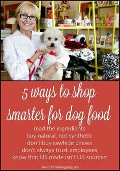 5 Ways to Shop Smarter for Dog Food