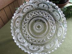 Crystal Bowl Royal Brighton serving bowl by LazyYVintage on Etsy www.etsy.com/shop/LazyYVintage