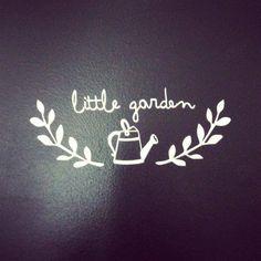 Sticker garden - stickers - Little paper  - Fait Maison.