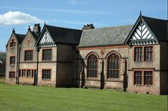 Ordsall Hall - historical Tudor manor house - with the earliest existing parts dating to 15th century. Salford, in Greater Manchester, England.