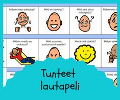 Tunnetaidot Early Childhood Education, Social Skills, Speech Therapy, Kids And Parenting, Vocabulary, Coaching, Preschool, Workshop, Feelings