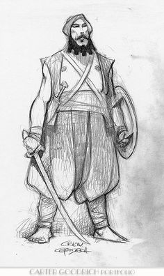Image result for sinbad legend of the seven seas character design