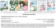 """Le long métrage d'animation """"Les Enfants Loups"""" sera disponible dès le 5 Juin 2013 en DVD, Blu-ray, Manga et Roman."""