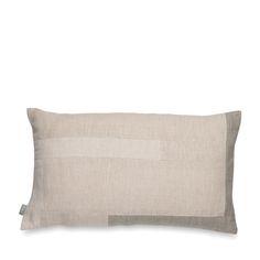 Hamlin Patchwork Linen Cushion Cover   Citta Design .. want