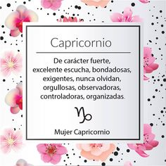 Muy claro, jijiji Más Capricorn Personality Traits, Capricorn Traits, Zodiac Capricorn, Horoscope, Capricorn Women, Capricorn Quotes, Good Sentences, Holidays And Events, Zodiac Signs