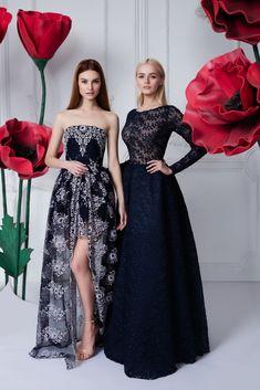 Платье «Джулия» — 46 990 рублей, Платье-корсет с вышивкой — 49 990 рублей