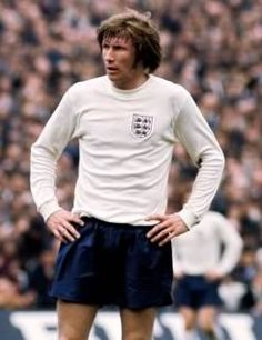 """Colin Bell, born 26 February 1946, English international midfielder (1968–1975), Bury (1963–1966), Manchester City (1966–1979), San Jose Earthquakes (1980), nicknamed """"The King of the Kippax"""" (after Manchester City's Kippax Street terraced stand renowned for its singing) and Nijinsky after the famous racehorse (due to his renowned stamina). Bell is widely regarded as Manchester City's greatest ever player. The Colin Bell Stand at the City of Manchester Stadium is named in his honour."""