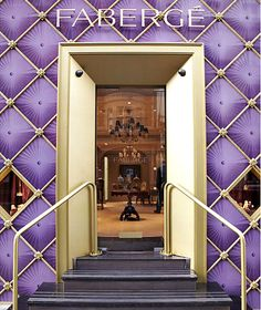 faberge, could see wall being made like this or something ...