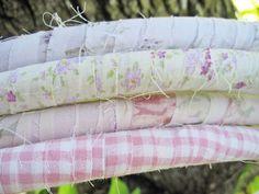 cute fabric wrapped hula hoops