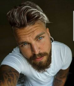 Marcus Sjöfjord as Conor Perfect Beard, Beard Love, Tapered Beard, Tatted Men, Long Beards, Awesome Beards, Raining Men, Hairy Chest, Beard Styles