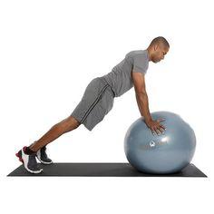 Natural Fitness 300lb Burst Resistant Exercise Ball - Slate (75cm) Item #: 226671