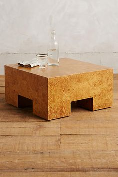 Burl Darby Side Table - anthropologie.com
