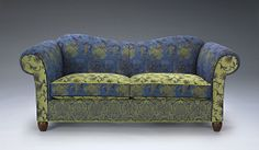 Manchester Sofa: Mary Lynn O'Shea - Upholstered Sofa