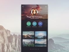 If you are full time travelers, then you're gonna love this app design #travel #app