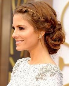 party hairstyles for medium hair with braid
