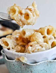 4 cheese baked skillet rigatoni