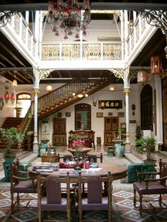Ancient knowledge: Baba Nyonya Heritage Museum, Melacca Malaysia