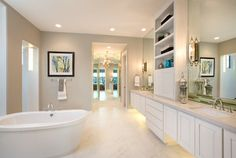 Jimmy Jacobs Custom Homes Crystal Falls Model contemporary bathroom