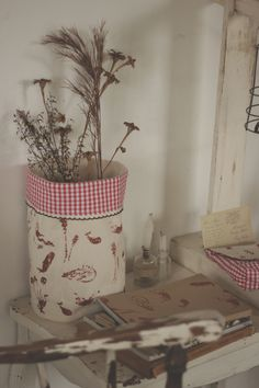 la maison boop!: ☁▵Petite Forêt▵☁ botany fabric basket