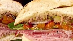 Muffaletta with Olive Relish Recipe | The Chew - ABC.com