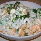 Angel Hair Pasta w/ Garlic Shrimp and Broccoli Recipe