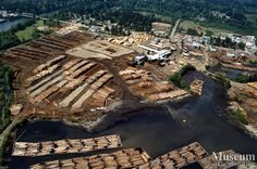 Lumber mill | Aerial view of Raven Lumber operations