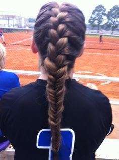 French braid into braid