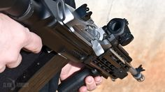 A Ruger in a SCAR stock with an Aimpoint Micro. Mini 14, Cool Guns, Firearms, Hand Guns, Weapons, Survival, Thoughts, Weapons Guns, Pistols