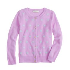 Girls' Collection cashmere dot cardigan - collection - Girl's Shop By Category - J.Crew