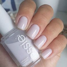 Off white nails - Essie
