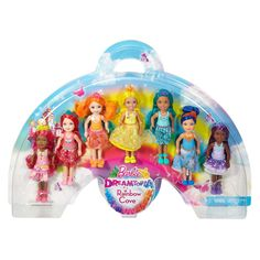 Check out the Barbie® Rainbow Cove™ 7 Doll Gift Set at the official Barbie website. Explore the world of Barbie now! Toys For Girls, Gifts For Girls, Kids Toys, Barbie Toys, Doll Toys, Dolls, Original Barbie Doll, Mattel Shop, Barbie Website