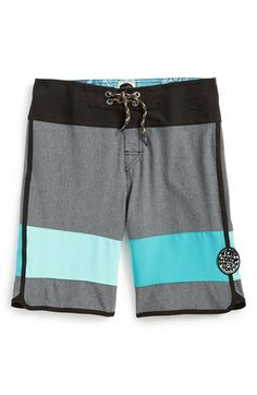 Boy's Rip Curl 'Mirage - Jammer' Scalloped Board Shorts