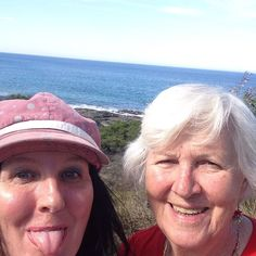 This week i'm connecting with the mothership who is visiting from fiji. She hates it when i pull faces in selfies. So this tine i decided to be serious.  #family #mum #daughter #greatoceanroad #victoria #roadtrip #selfie #happy #ocean #faces #fiji #australia #aussie #destinations #drive #instagood #faces #melbourne #great #ocean #road #fun by janijans