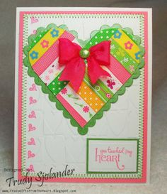 True's Gift's From the Heart: Ribbon Heart Video Tutorial