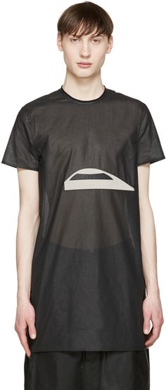 Rick Owens - Black Cyclops T-Shirt