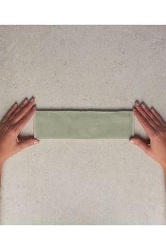 Green Subway Tile, Green Tiles, Subway Tiles, Mosaics, Spanish, Bathroom, Handmade, Washroom, Hand Made